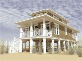 Beach Home Plans On Pilings Narrow Beach House Designs Narrow Lot Beach House Plans