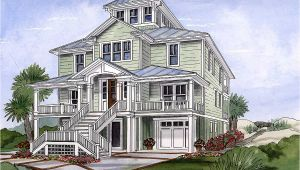 Beach Homes Plans Beach House Plan with Cupola 15033nc Architectural