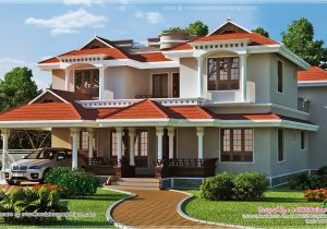 Beautiful Home Design Plans Beautiful Home Exterior In 2446 Square Feet Kerala Home