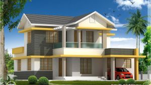 Beautiful Home Plan Beautiful 4 Bedroom House Elevation In 1880 Sq Feet