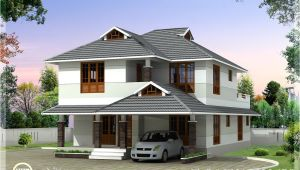 Beautiful Home Plans 1760 Sq Feet Beautiful 4 Bedroom House Plan Kerala Home