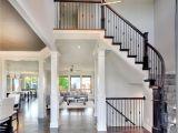 Beautiful Open Floor Plan Homes 2 Story Entry Way New Home Interior Design Open Floor