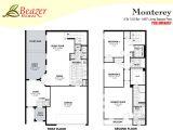 Beazer Homes Floor Plans05 Beazer townhomes Floor Plans