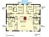Bermed Home Plans attractive Berm House Plan 35458gh Architectural