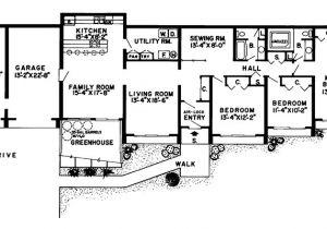 Bermed Home Plans Glennon Green Berm Home Plan 038d 0136 House Plans and More