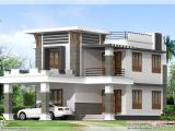 Best Home Plans 1800 Sq Ft Flat Roof Home Design Kerala Home Design and