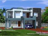 Best Home Plans In Kerala Simple Contemporary Style Villa Plan Kerala Home Design