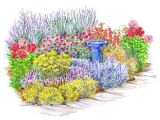 Better Homes and Gardens Flower Garden Plans No Fuss Garden Plans Gardens Backyards and Deer