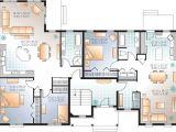 Bi Generation House Plans 45 Best House Plans Duplex Images On Pinterest House
