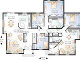 Bi Generation House Plans Jumeles Bi Generation Mediterraneen Champetre W2278