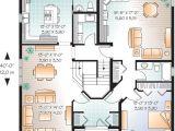 Bi Generation House Plans Manoirs Chateaux Jumeles Bi Generation W3041