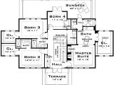 Big Family Home Floor Plans Plan W44040td for the Large Family E Architectural Design