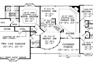 Big Single Story House Plans Big One Story House Plans Big One Story House Plans