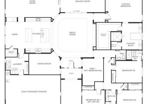 Big Single Story House Plans Durango Ranch Model Plan 3br Las Vegas for the Home