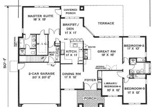 Big Single Story House Plans Elegant One Story Home 6994 4 Bedrooms and 2 5 Baths