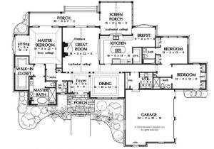 Big Single Story House Plans Exceptional Large One Story House Plans 6 Large One Story