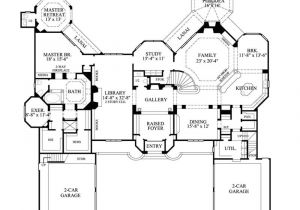 Big Single Story House Plans Large One Story House Plans Smalltowndjs Com