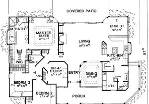 Big Single Story House Plans Marvelous One Story Country House Plans 8 Single Story