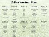 Biggest Loser Plan at Home 10 Day Workout Plan Biggest Loser Pinterest