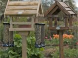 Bird House Feeder Plans Free Standing Wooden Bird Feeders Bird Cages