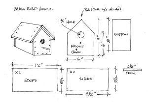 Bird House Plans for Sparrows Simple Bird House Plans Home Design Ideas Bird House Plans