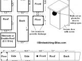 Bird House Plans for Wrens Free Bird House Plans Bluebird Purple Martin Wren More