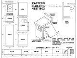 Bird House Plans Free Acravan Bluebird ornicopia 16