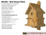 Bird House Plans Free Bird House Plans Designs Pdf Woodworking