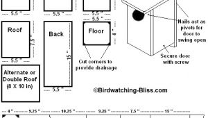 Bird House Plans Free Free Bird House Plans Bluebird Purple Martin Wren More
