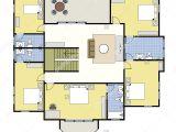 Blueprint Floor Plans for Homes First Second Floor Plan Floorplan House Home Building