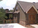 Board and Batten Home Plan asheville Mountain Home