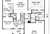 Brentwood House Plan Brentwood House Floor Plan Frank Betz associates