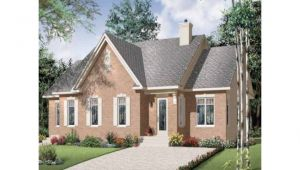 Brick Bungalow House Plans Beautiful Brick Duplex Hwbdo67663 Bungalow Multi Family