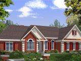 Brick House Plans with Photos Dramatic Brick and Stucco Ranch 2029ga 1st Floor