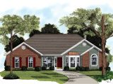 Brick Ranch Home Plans Traditional Brick Ranch Home Plan 2092ga Architectural