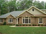 Brick Ranch House Plans Basement Brick House Plans