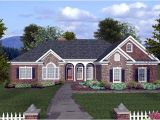 Brick Ranch House Plans Basement House Plan 74810 at Familyhomeplans Com