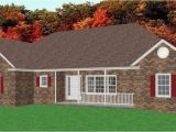Brick Ranch House Plans Basement Traditional Brick Ranch Home Plan Single Level Ranch Home