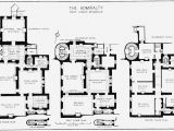 British Home Plans Plate 45 Admiralty House Plans Of Ground First and