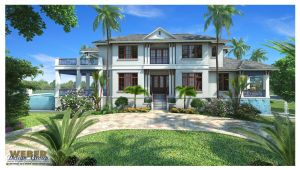 British West Indies Home Plans West Indies House Plan Mandevilla House Plan Weber