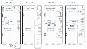 Brownstone Home Plans Brownstone Floor Plans Unique House Plans