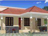 Budget Home Plans In Kerala 1100 Square Feet 3 Bhk Low Budget Small Elevation Kerala