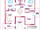 Budget Smart Home Plans Single Floor House Plan 1000 Sq Ft Kerala Home