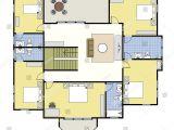 Build as You Go House Plans First Second Floor Plan Floorplan House Stock Vector