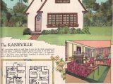 Builder Magazine House Plans 1925 Kaneville by American Builder Magazine English