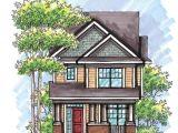 Builder Magazine House Plans Fourplans Ultra Narrow House Plans Builder Magazine