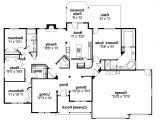 Building A Home Floor Plans Ranch House Plans Pleasanton 30 545 associated Designs