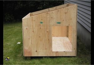 Building Plans for A Dog House Easy Diy Dog House Plans Youtube