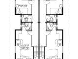 Building Plans for Duplex Homes Duplex House Plans Series PHP 2014006