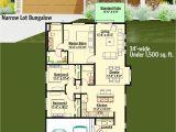 Bungalow House Plans for Narrow Lots Plan 64414sc Narrow Lot Bungalow In 2018 House Plans